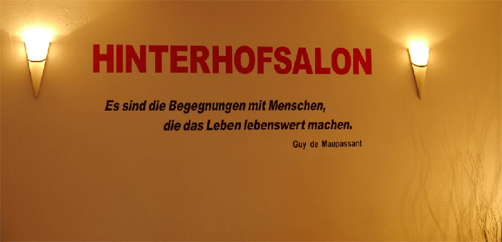 Lesefestifal Hinterhofsalon
